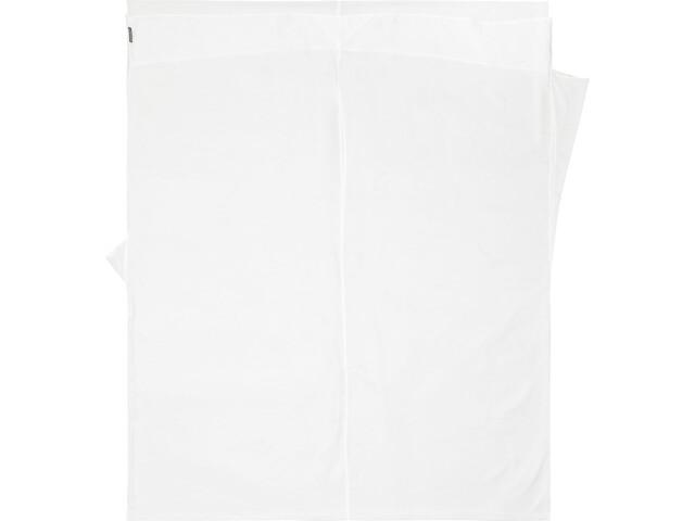 Cocoon TravelSheet Betræk Dobbelt størrelse, silke, hvid